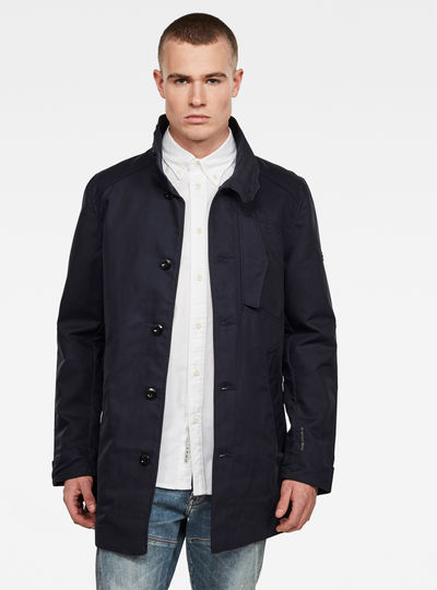 Trench Scutar Half Lined