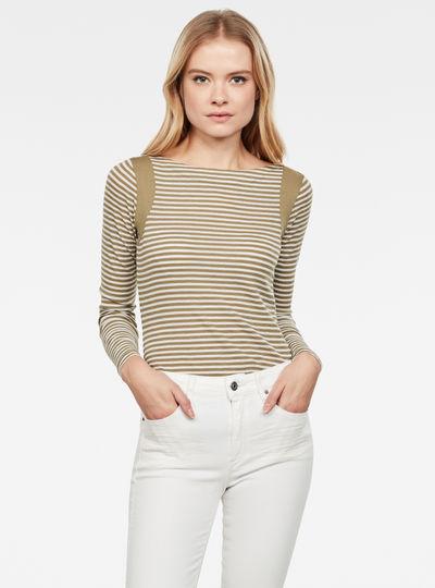 Haut Zovas Yarn Dyed Stripe Slim