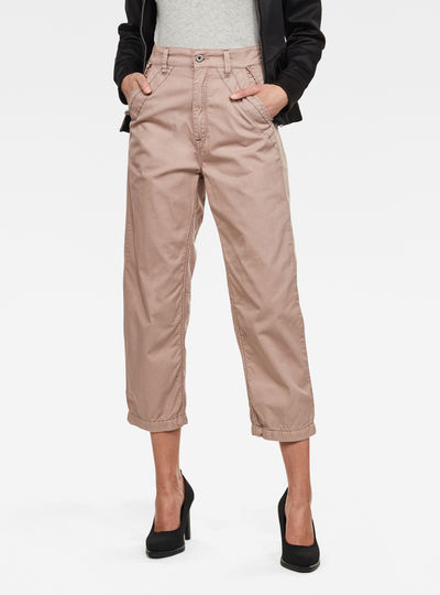 Army City Mid Boyfriend Straight Broek