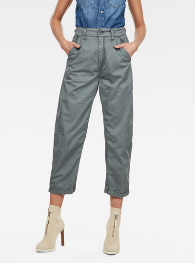 Army City Mid Boyfriend Straight Pants