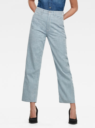 Revynn Ultra High Boyfriend Pants