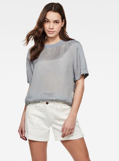 T-shirt tissé