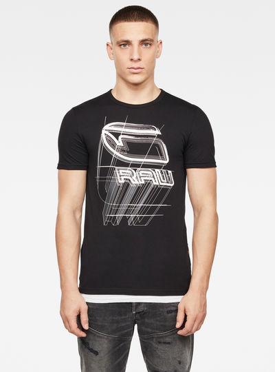 Camiseta Perspective Logo GR Slim