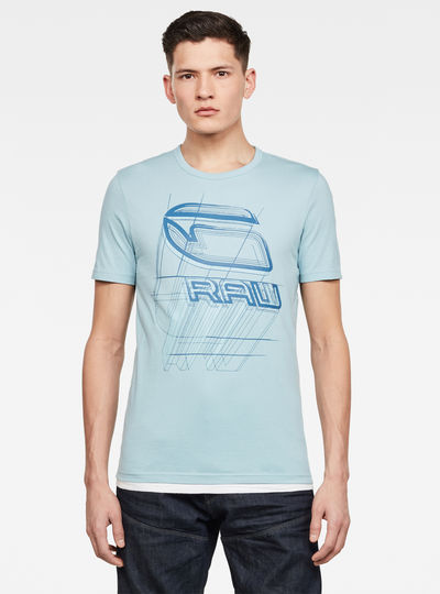 T-shirt Perspective Logo GR Slim