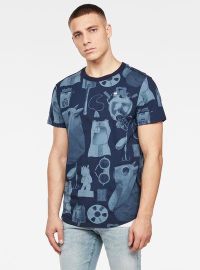 Camiseta Lash Materials Allover GR