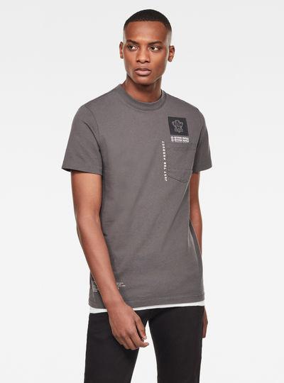 T-shirt Multi Logo Pocket GR