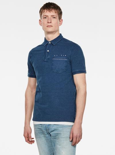 Indigo Poloshirt