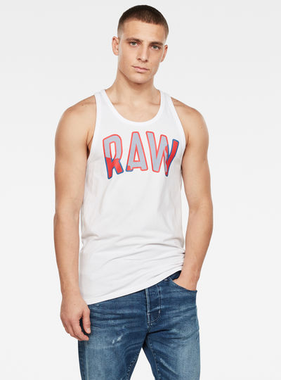 Multi Layer RAW GR Tank Top