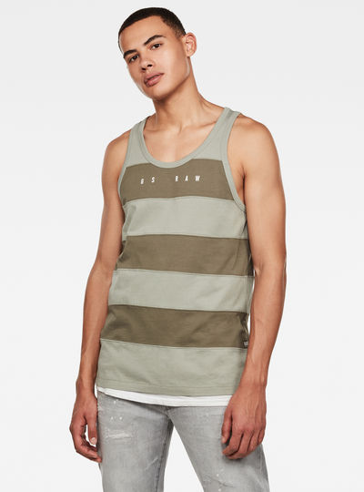 Block Stripe GR Tank Top