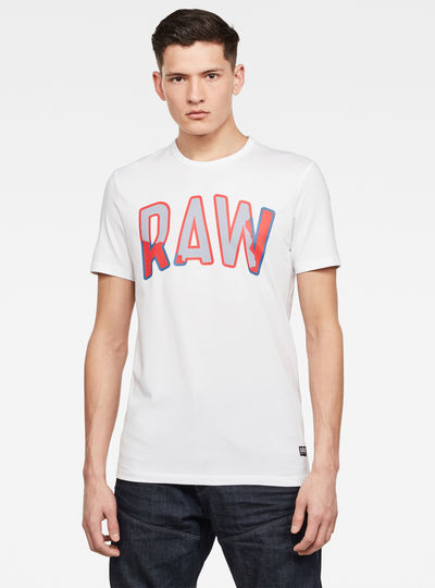 Multi Layer RAW GR Slim T-Shirt
