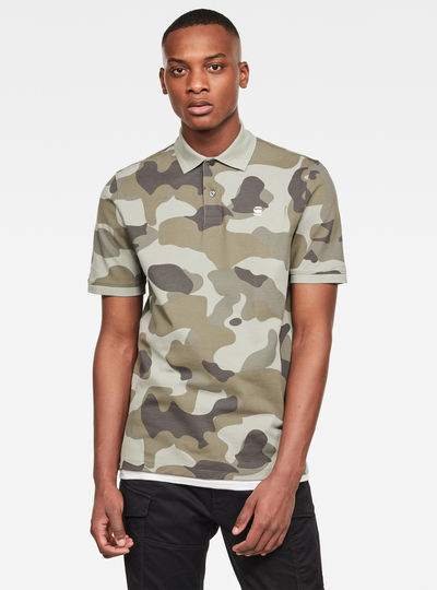 Camo Allover GR Polo