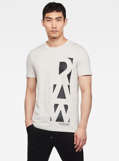 T-shirt Vertical Raw GR Slim
