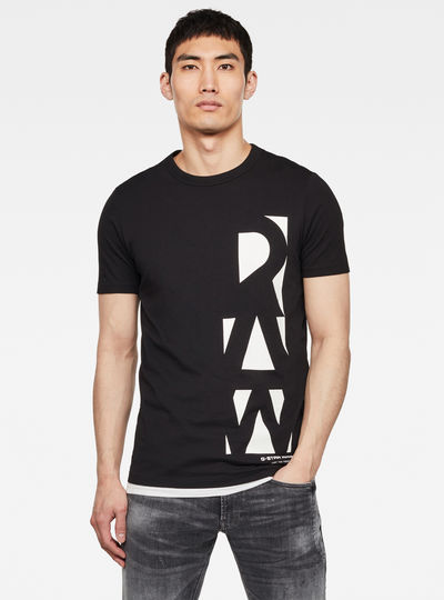 T-shirt Vertical Raw GR Slim