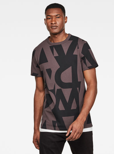 T-shirt Raw Allover GR