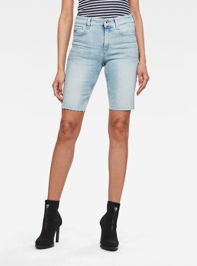 Shorts 4311 Noxer High Slim Raw Edge
