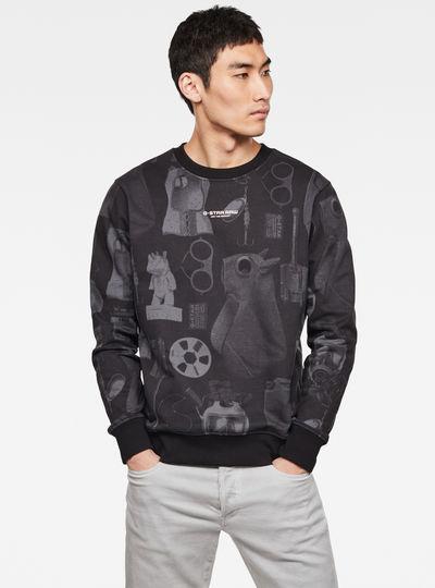 Materials Allover GR Sweatshirt