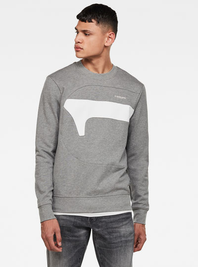 Hamburger Logo Sweatshirt