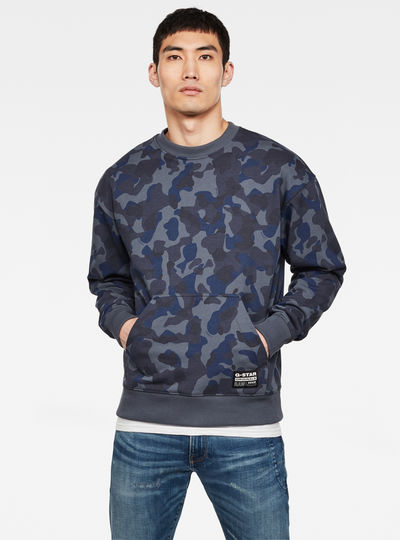 Brush Camo Sweater