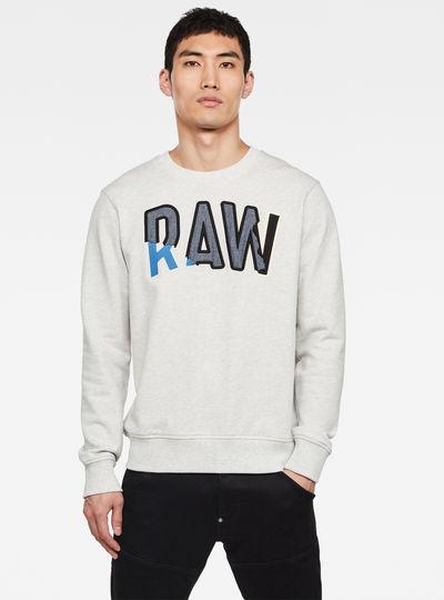 Denim Applique Sweatshirt