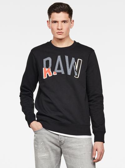 Denim Applique Sweater