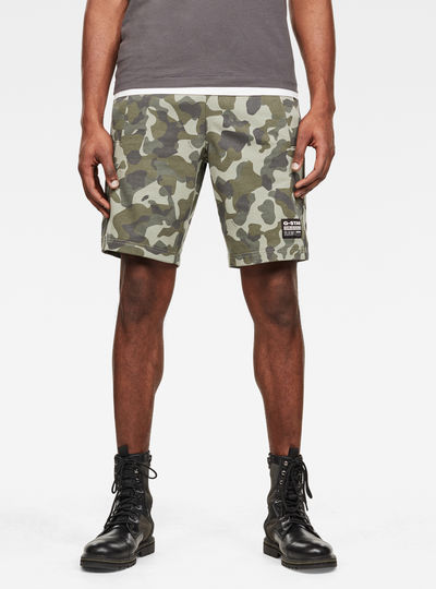 Short Brush Camo Sweat