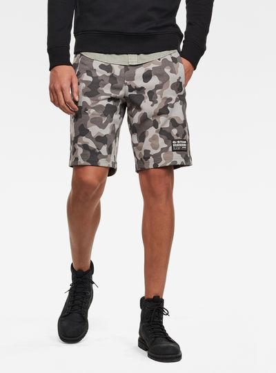 Brush Camo Sweat Shorts