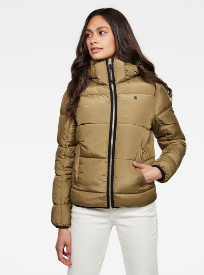 Meefic Sundu Quilted Hooded Overshirt