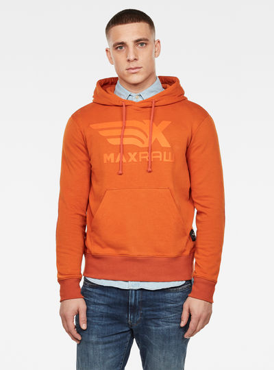 Max Graphic Hooded Sweater