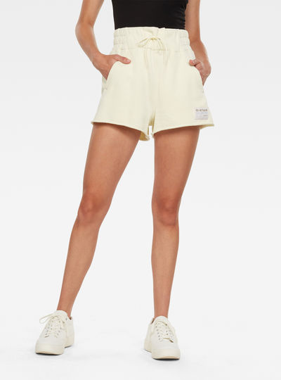 High Waist Sweat Shorts