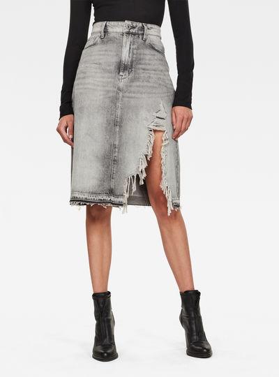 3301 A-line Midi rp Skirt