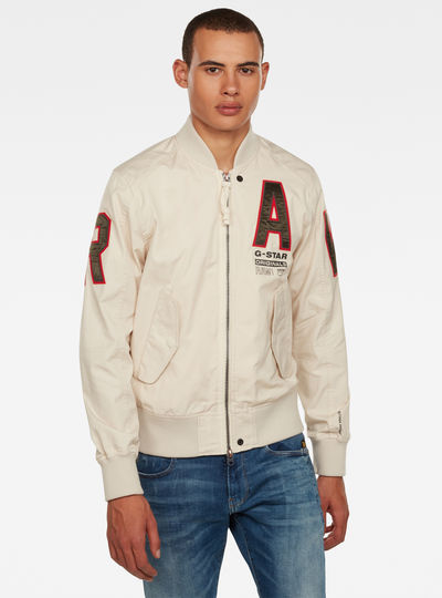Arris Unpadded Artwork Bomber Jacket