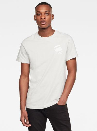 Big Logo Back GR Round Neck T-Shirt