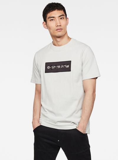 Box Logo Embro GR Round Neck T-Shirt