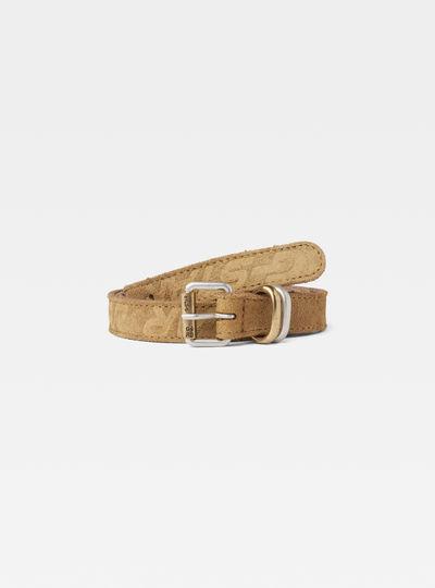 Cinturón Suede