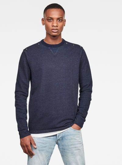 Indigo Washed Sweater