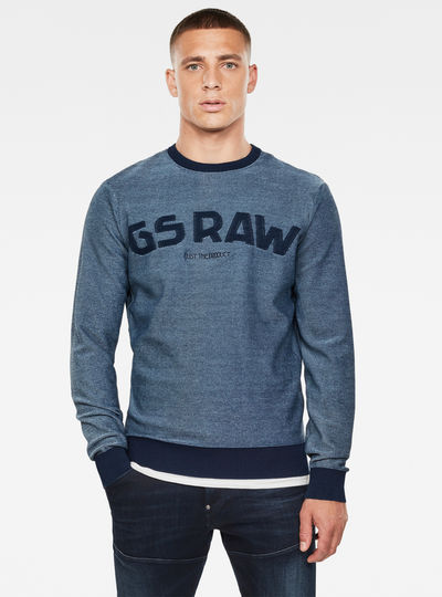 Gsraw Knit Sweatshirt