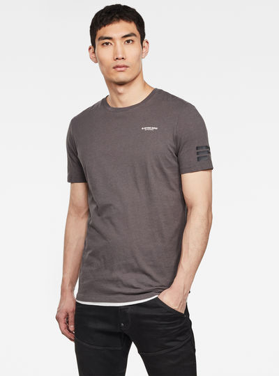 Flag Text GR Slim T-Shirt