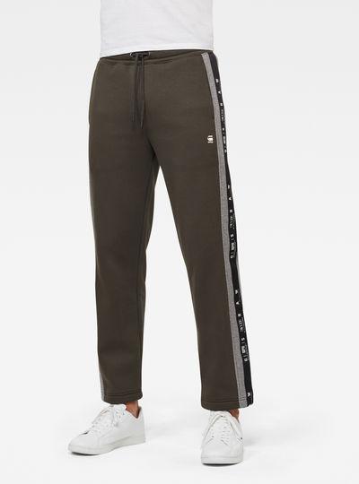 Denim Stripe Sweatpants