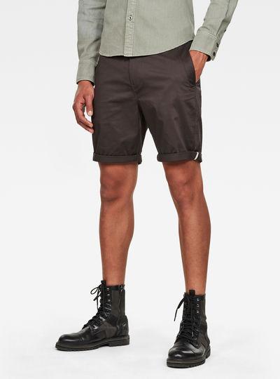Straight Chino 1\2 Length Shorts