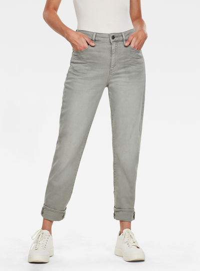 3301 High Straight 90's Ankle Colored Jeans