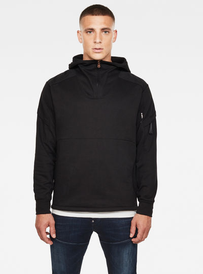 Dast Half Zip Hooded Sweatshirt