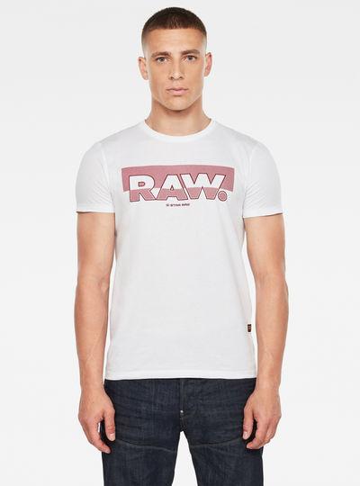 Raw. T-Shirt Graphic Slim