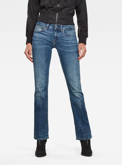 Jean 3301 Mid Skinny Bootcut