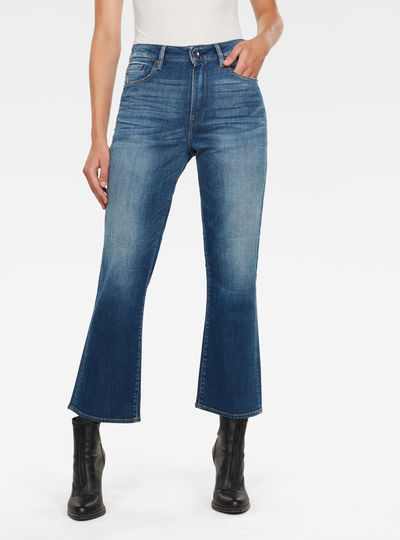 Codam High Kick Flare 7\8 Jeans