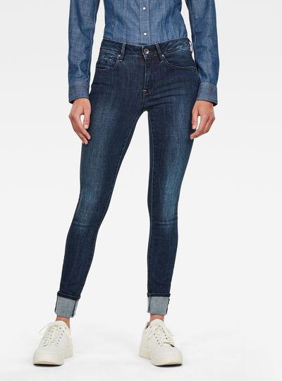 Midge Zip Mid Skinny Jeans
