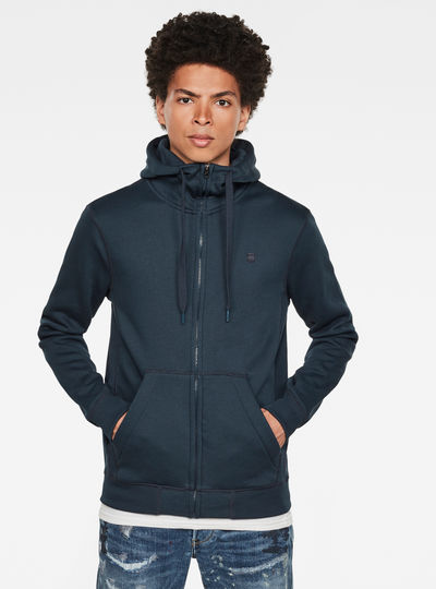 Sweat à capuche zippé Premium Core