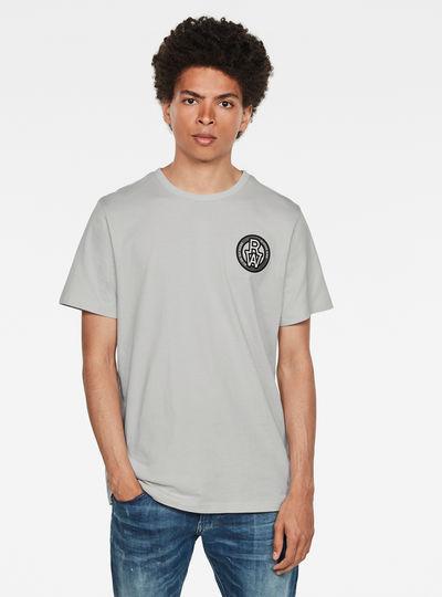 Round RAW Badge T-Shirt