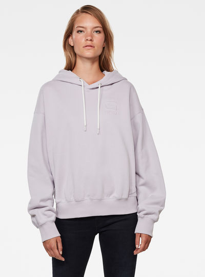 Loose Hooded Sweatshirt
