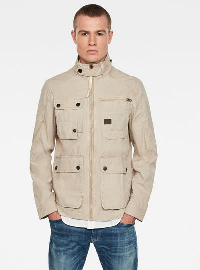 Utility Washed Field Jacket