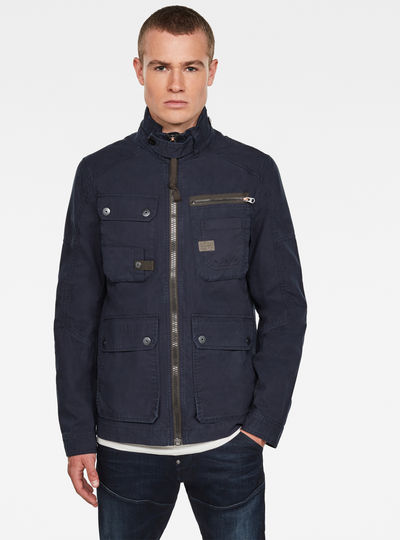 Utility Washed Field Jacke